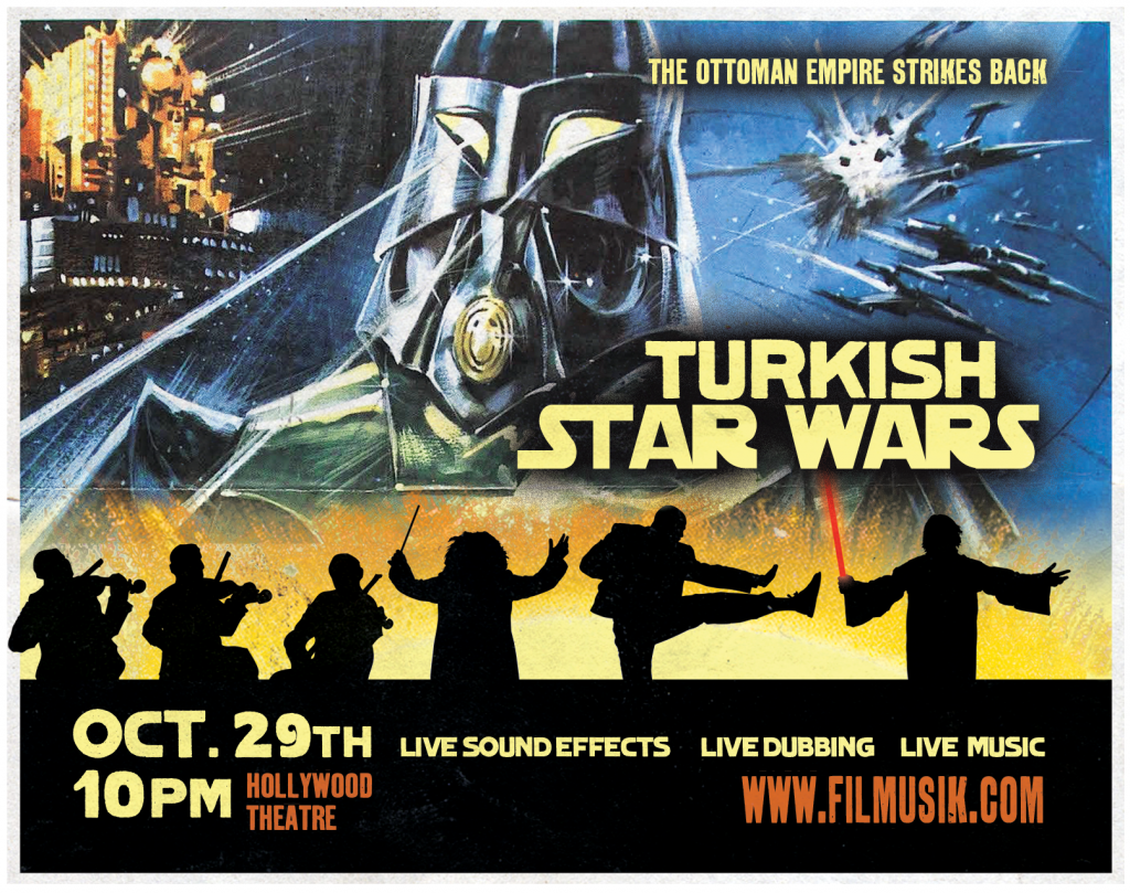 Turkish Star Wars poster