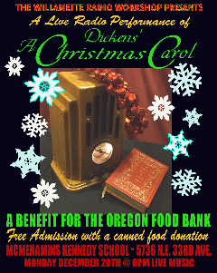 WRW Christmas Carol poster