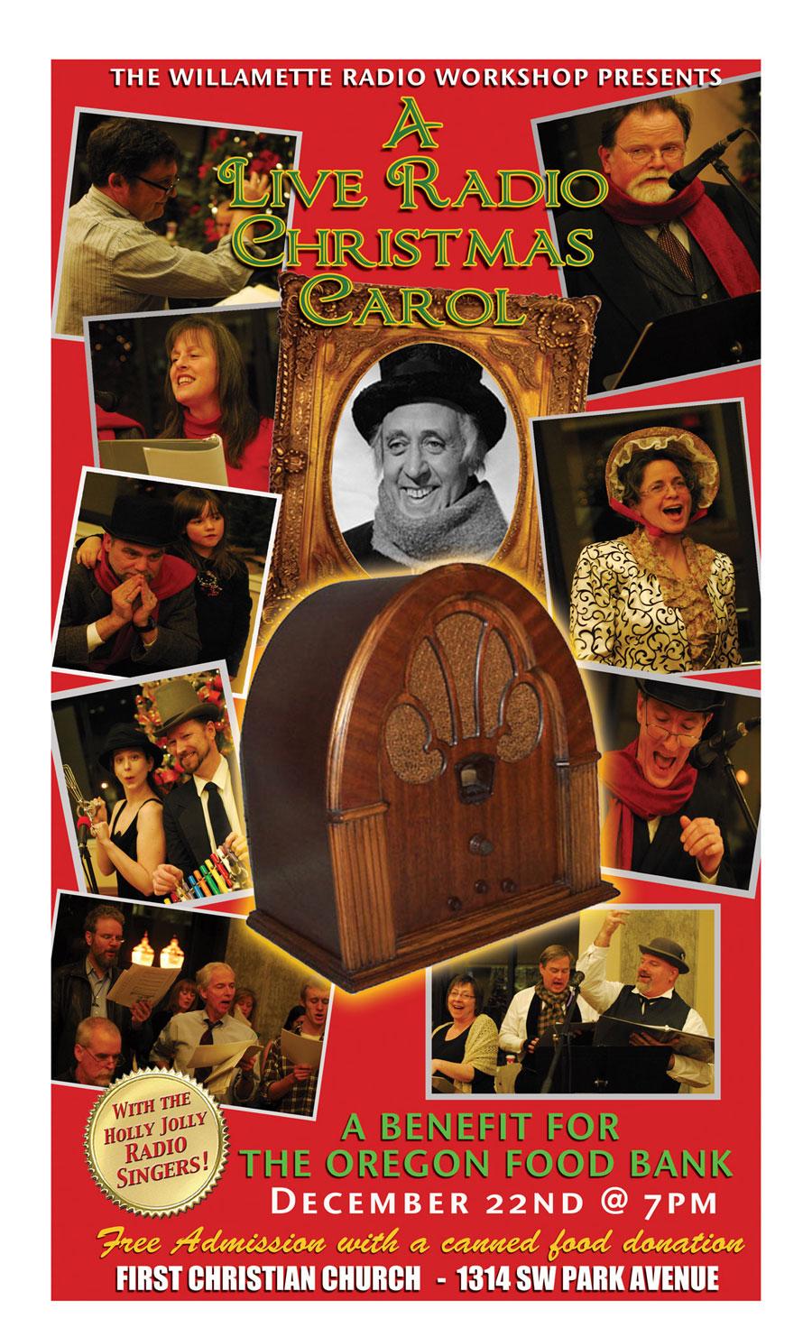 Radio Christmas Carol, December 2012