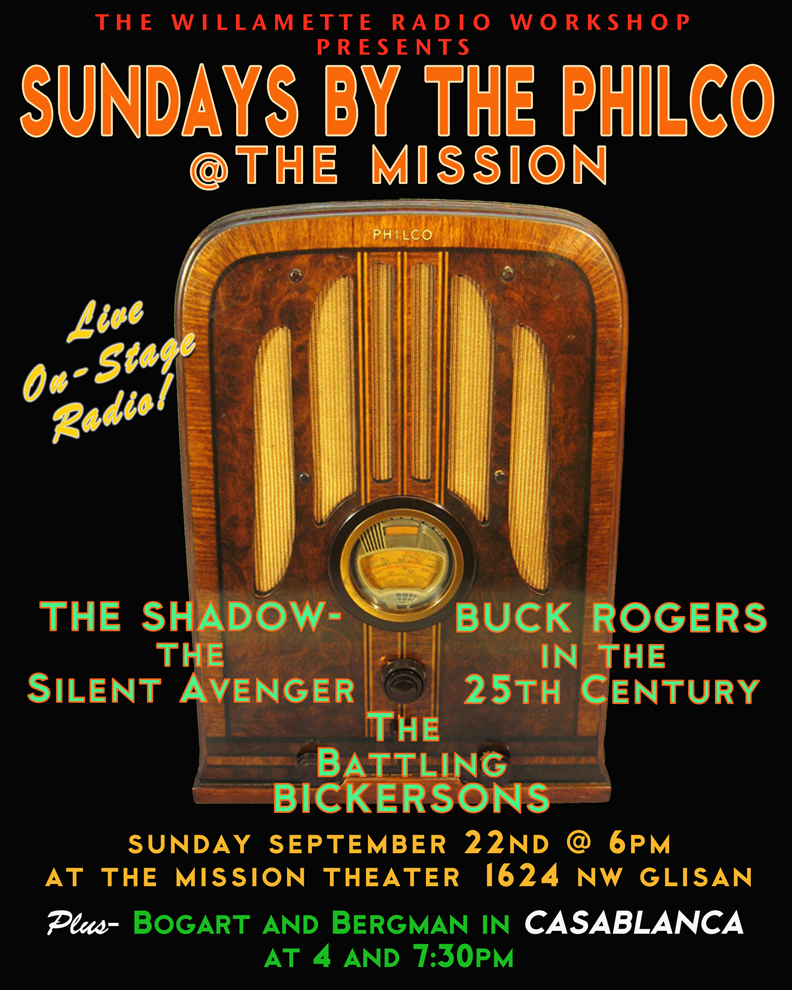 Sundays by the Philco, September 2013