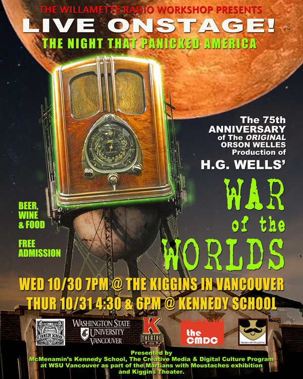 War of the Worlds, October 2013