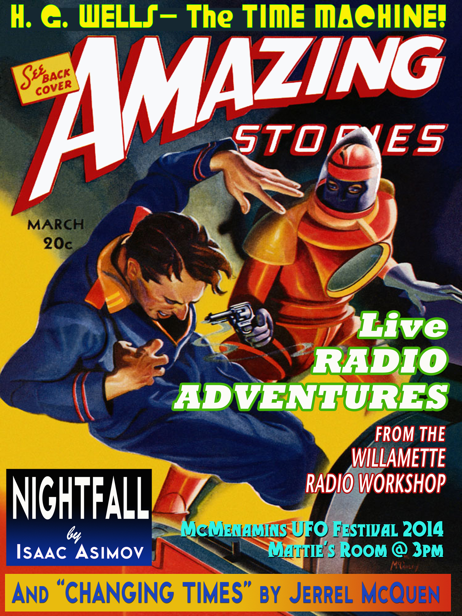 Live Radio Adventures, UFO Festival 2014