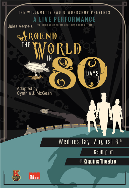 Around the World in 80 Days, August 2014