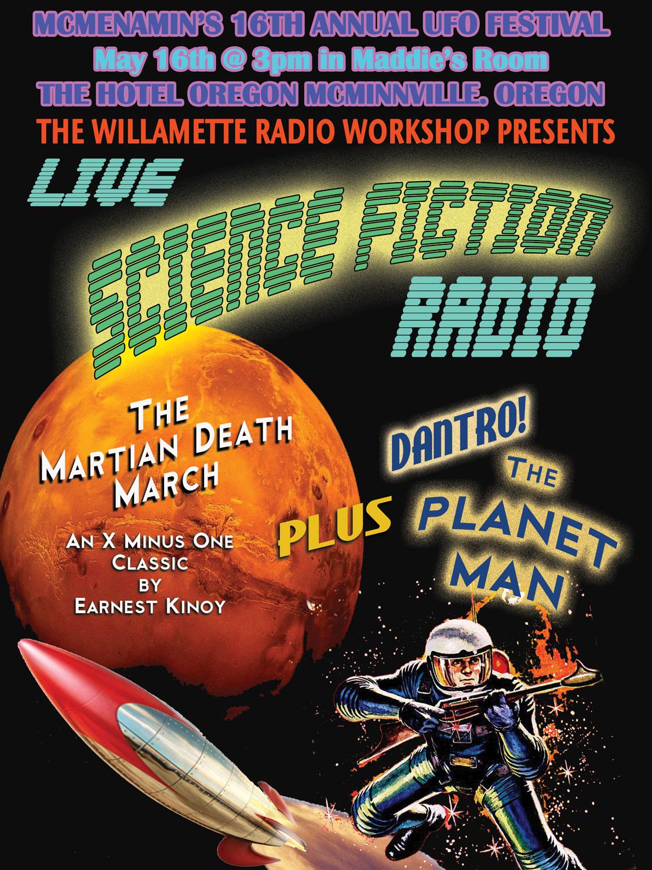 Science Fiction Radio! UFO Festival 2015