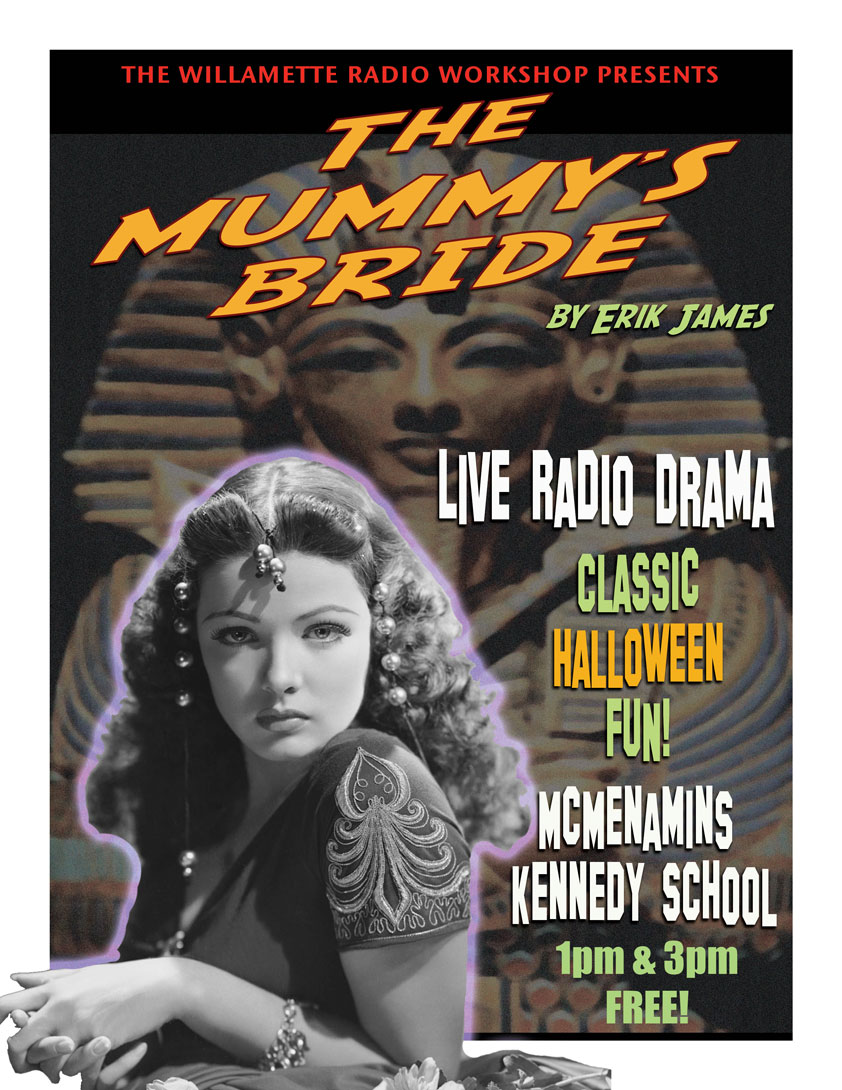 The Mummy's Bride, October 2015