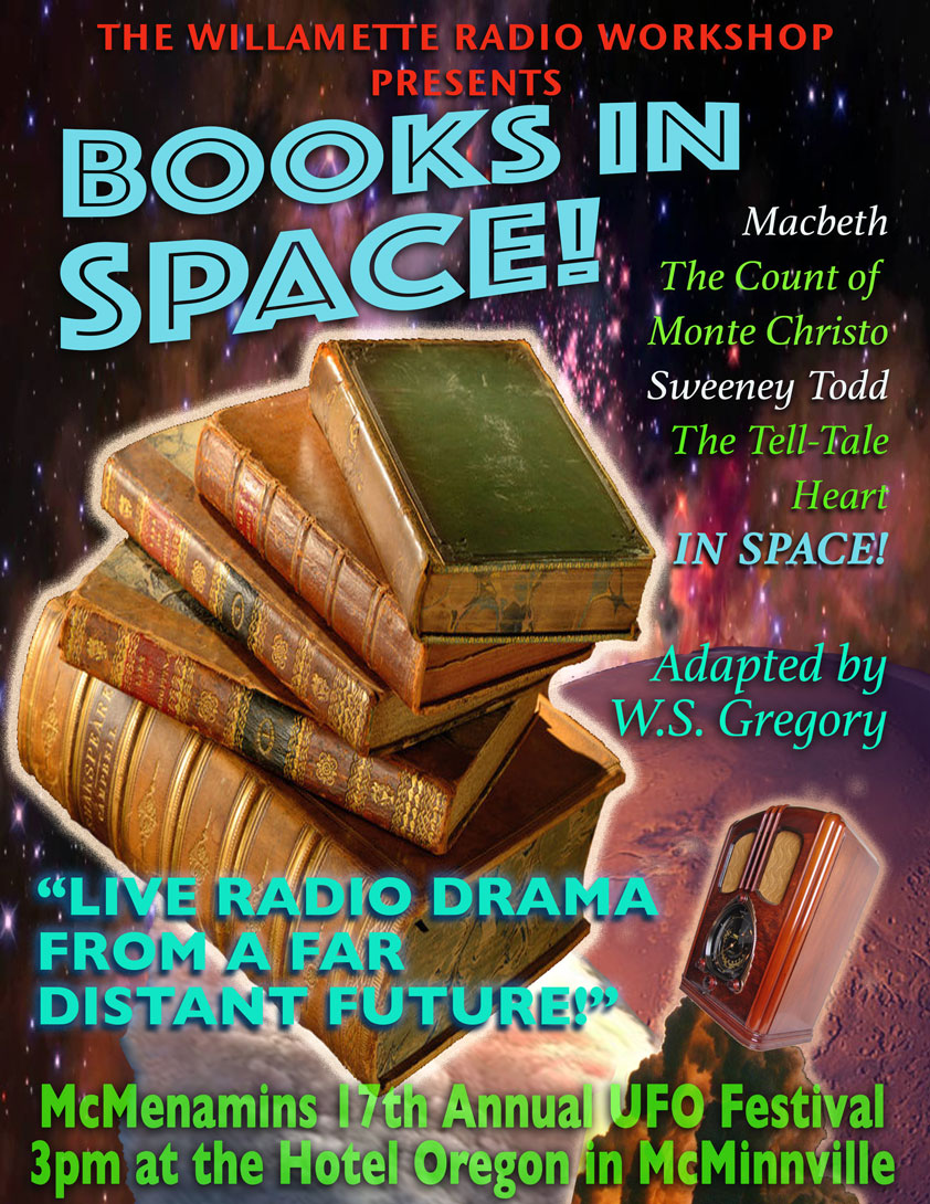 Books In Space!  UFO Festival 2016
