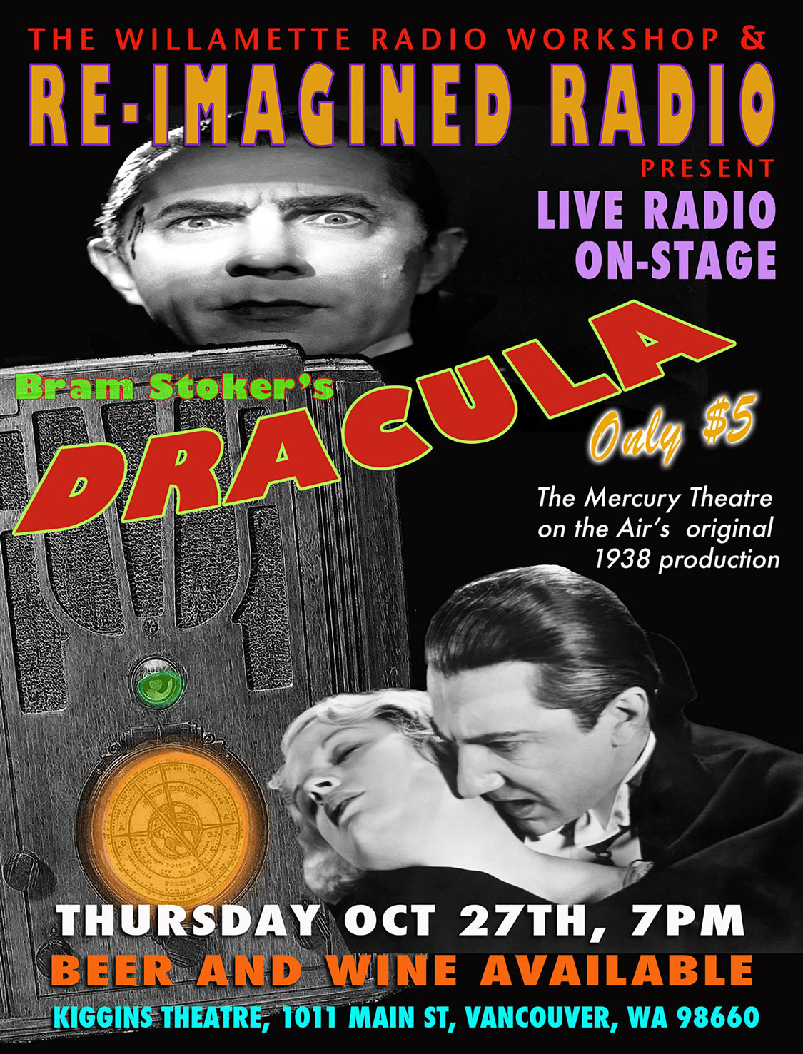 Dracula at the Kiggins, October 2016