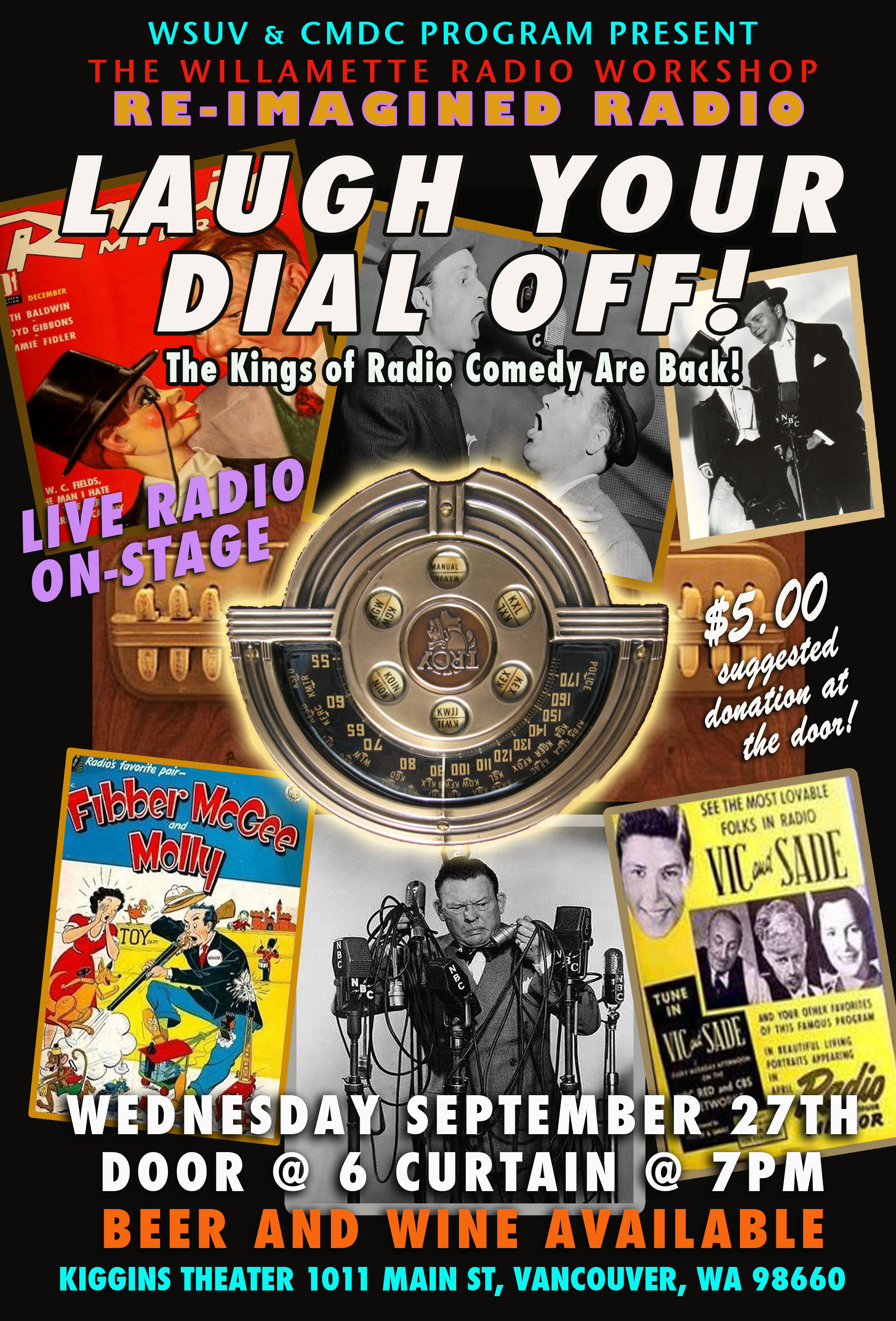 Laugh Your Dial Off! October 2017